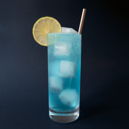 Blue Lagoon Drink Recept