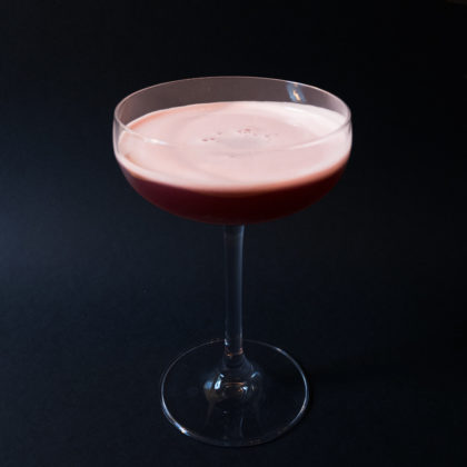 Cassis Sour Drink Recept