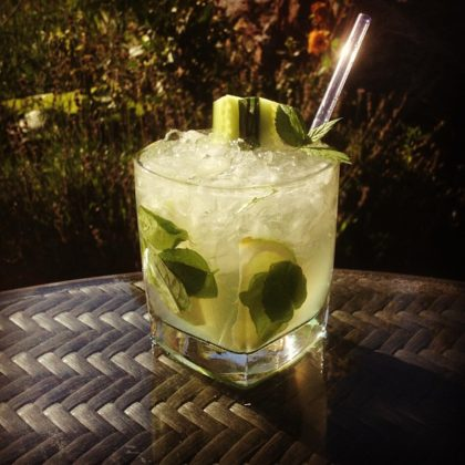 English Mojito Drink Recept