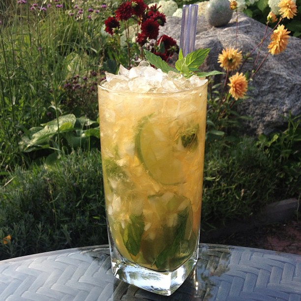 French Mojito Drink Recept