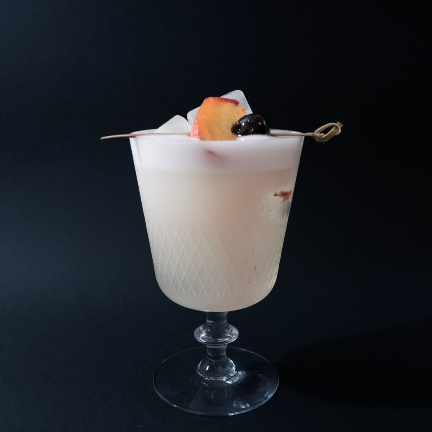 Peach Sour Drink Recept