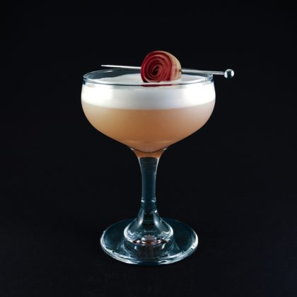 Rabarber Gin Sour Drink Recept