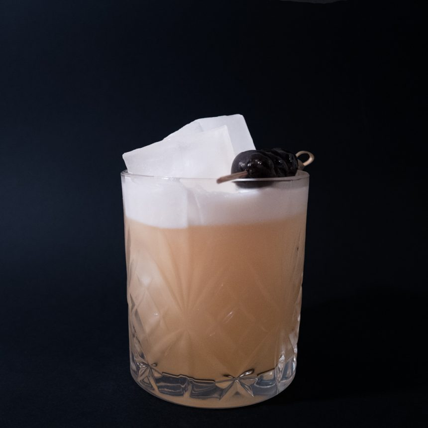 Rum Sour Drink Recept