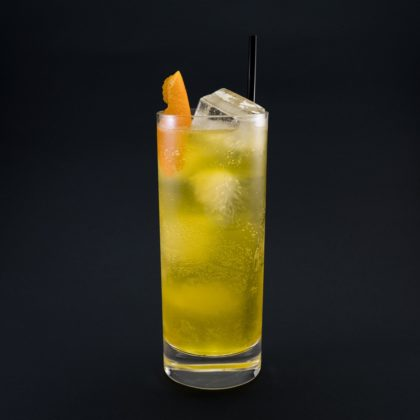 Saffron Collins Drink Recept